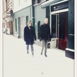 We had only brought our spring shoes, weren't expecting this much snow in Amsterdam!