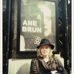 Ane Brun and Ane Brun outside Toneelhuis, Antwerpen.