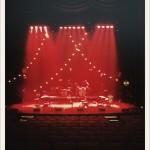 The Ane Brun stage. Beutiful lights by Jenny Björklund.