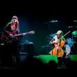 Acoustic show at Södra Teatern, Sthlm. Me & Linnea Olsson! Photo by Herman Dahlgren.